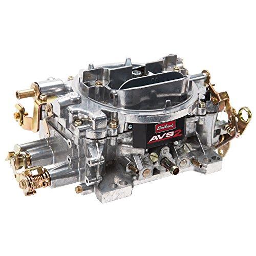 Edelbrock 1905 AVS2 Series Carburetor 650 cfm Square Flange Non-EGR Manual Choke Satin AVS2 Series (650 Cfm Carburetor)