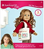Best American Girl Crafts Books For 9 Year Old Girls - American Girl Crafts Doll Iron-on Kit, Tote Review