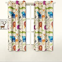 BGment Room Darkening Kids Curtains With Variety of Cute...