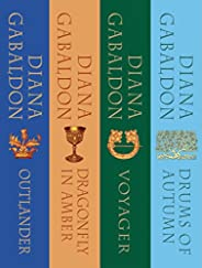 The Outlander Series Bundle: Books 1, 2, 3, and 4: Outlander, Dragonfly in Amber, Voyager, Drums of Autumn (Ou