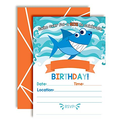 fish birthday invitations - 9