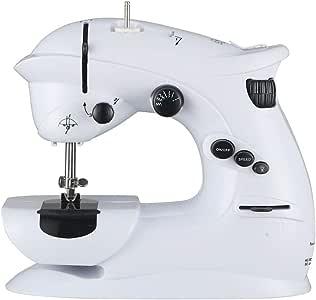 Máquina de coser portable eléctrico, ajustable 12 puntos de sutura ...