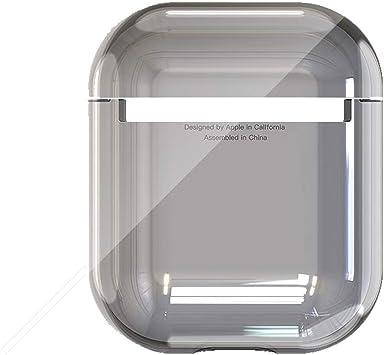 8HAOWENJU Funda para Auriculares, Caja Transparente Airpods, Caja ...