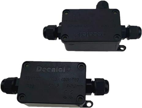 Nuluxi Cajas de Empalmes Impermeable IP66 Cajas de Conexiones a Prueba de Agua IP66 IP66 Caja