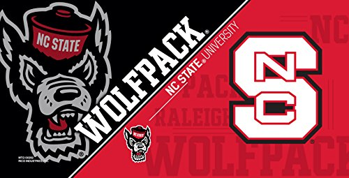 Rico NCAA North Carolina State Wolfpack Metal License Plate Tag (Wolfpack College Baseball)