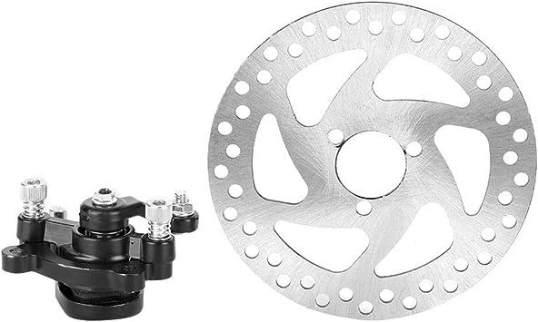 Bremsscheibe Roller Aluminiumlegierung Mini Scooter Hinterrad Scheibenbremse Set Bremsscheibe Bremssattel Für Rotoren Auto