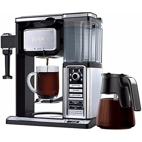 Ninja Coffee Maker CF090CO 50 Oz Glass Carafe Reusable Filter Certified Refurbished