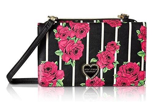 Betsey Johnson Women's Bow Wos Crossbody Floral One Size by Betsey Johnson