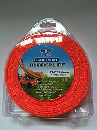 "UPC 681441615376, KELIST TRIGON TWIST TRIMMER LINE 1LB/0.080""/2.0MM;1LB/0.095""/2.4MM; 1LB/0.120""/3.0MM"