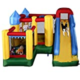 Best Bounce Houses - Costzon Mighty Inflatable Bounce House, Castle Jumper Moonwalk Review