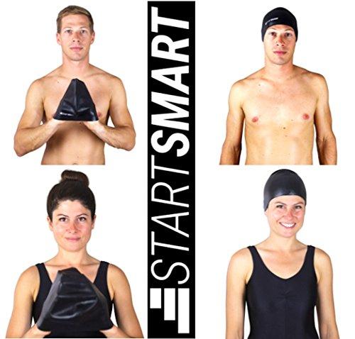 Start Smart Anti-Slip Adult Swim Cap for Men and Women