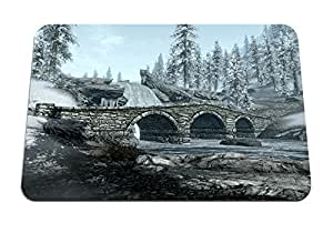 """Bridge to Windhelm - Gaming Mouse Pad - Mouse Pad - 10.24""""x8.27"""" inches"""