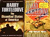 "2 Titles By Harry Turtledove: ""The Disunited States of America,"" & ""The Great War: Breakthroughs."""