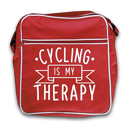 Cycling My Therapy Is Red Flight Bag Retro zPzfarq