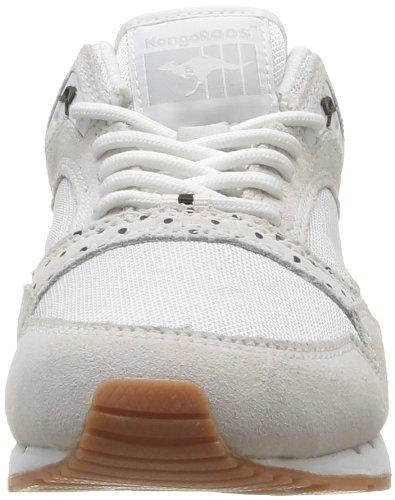 KangaROOS Rage Dots Damen Sneakers Weiß (White 000)