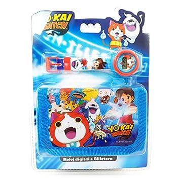 KIDS LICENSING Set reloj digital billetera Yo Kai Watch: Amazon.es: Juguetes y juegos