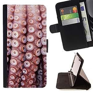 ForSamsung Galaxy S3 MINI i8190 (NOT S3) Case , Patrón Sea Life Naturaleza Mar Buceo- la tarjeta de Crédito Slots PU Funda de cuero Monedero caso cubierta de piel