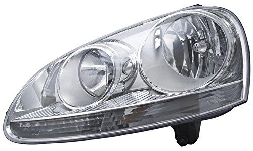 HELLA 247007351 Volkswagen Golf/Rabbit/GTI/Jetta MkV Driver Side Headlight (Hella Left Headlight Assembly)
