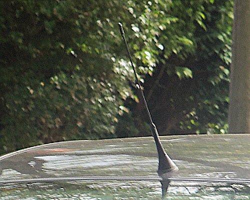 Citroen Berlingo Van Estate Black Rubber Genuine Replacement AM//FM Aerial Mast Antenna Roof Screw In Type