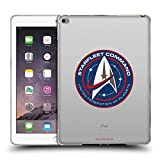 Official Star Trek Discovery Starfleet Badges Soft Gel Case for iPad Air 2 (2014)