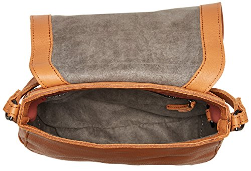 Huntsville Women's Bag Cognac Leather Berlin Liebeskind Saddle EqO075