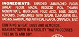Thin Addictives Cranberry Almond Thins 20 Freshness