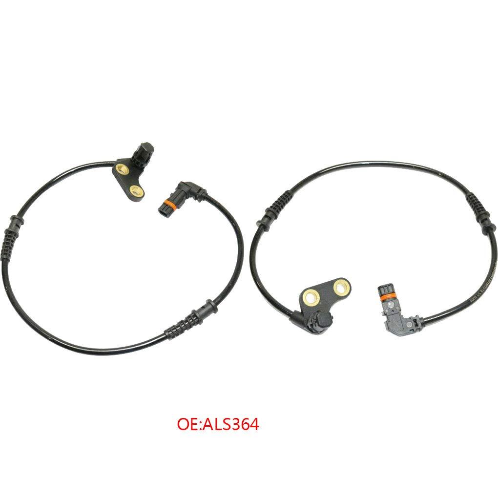 droite remplacement pour MERCEDES SLK R170 BENZ 200-230 1996-2004 ABS vitesse de roue avant du capteur ALS364 LafyHo Avant gauche