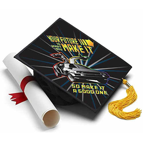 - Tassel Toppers Back to The Future Grad Cap Decorated Grad Caps