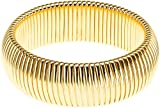 Janis Savitt Single Cobra Bracelet - High Polished Gold