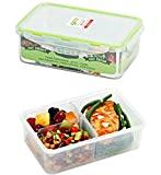 [4 Pack] Bento Box Meal Prep Containers (38 oz) - PREMIUM Quality Bento Lunch Boxes | Food Storage | Portion Control | LEAK PROOF | BPA FREE | Microwavable | Lunch Containers | Food Containers