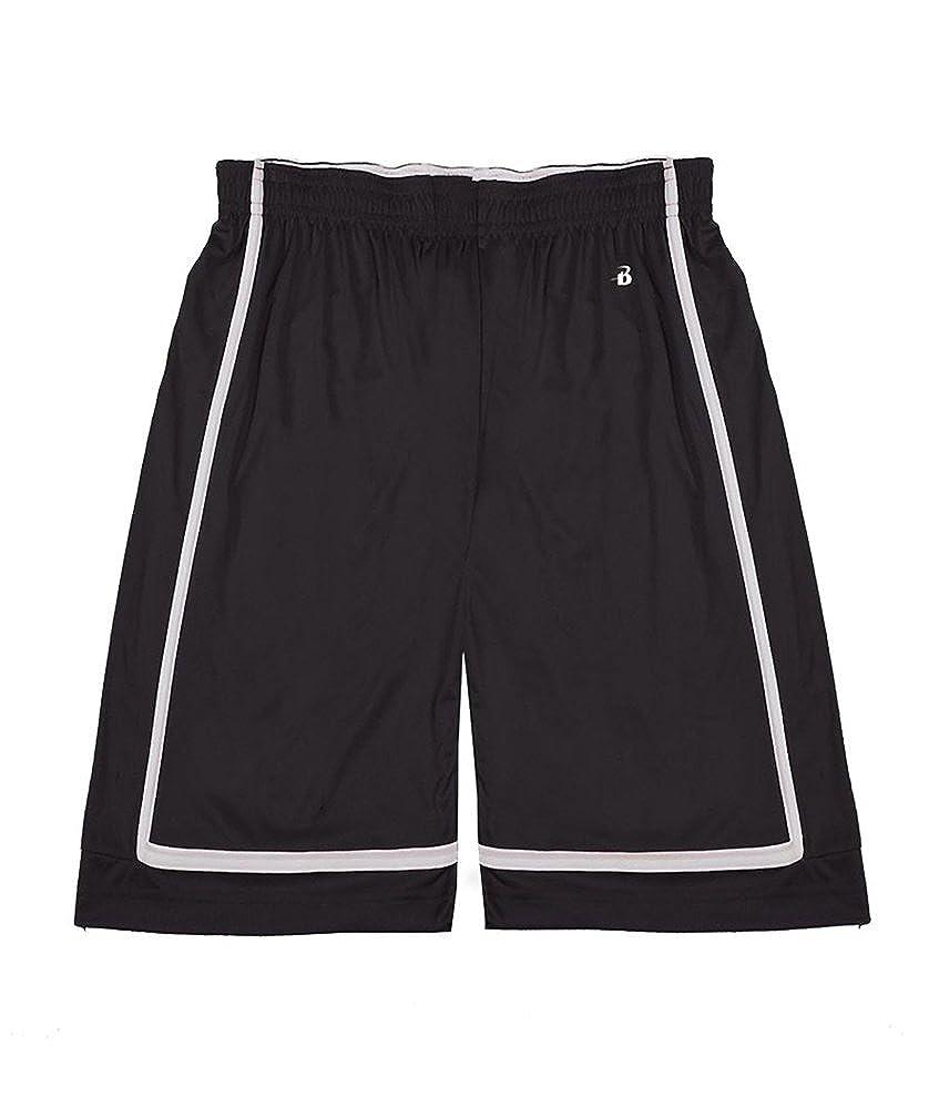 Badger PANTS ボーイズ Small ブラック/ホワイト B00R2ULH4Y