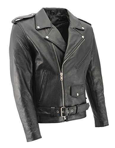 Large Leather Jacket - 2