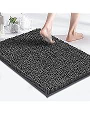 MAYSHINE Bath Mats for Bathroom Rugs Soft, Absorbent, Shaggy Microfiber, Machine-Washable, Perfect for Door Mat