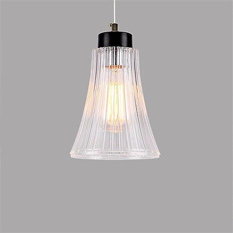 Lámpara de techo colgante,Vidrio Línea pez colgante sencillo ...