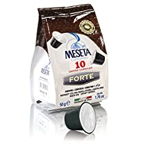 Caffe Meseta 100 cialde capsule compatibili Nespresso miscela Forte