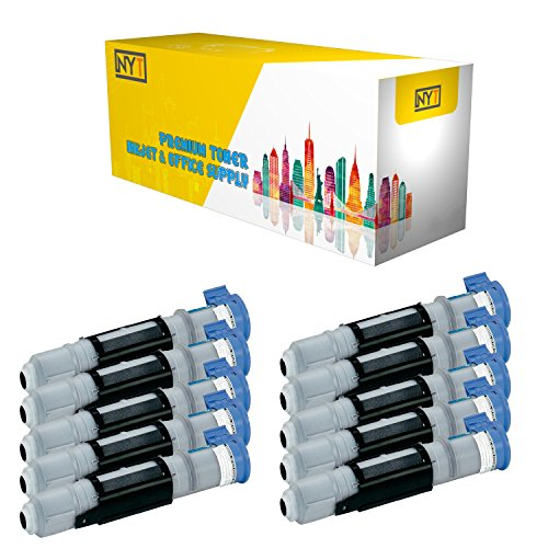 New York Toner New Compatible 10 Pack TN5000 High Yield Toner For Brother : MFC-4300 . -- Black Brother Tn5000 Compatible Toner