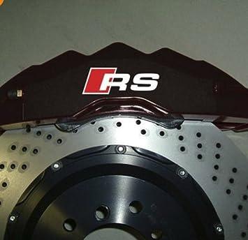 Audi RS Premium Pinza de freno calcomanías pegatinas TT A3 A4 S3 Q5 R8 Quattro S-Line TD11: Amazon.es: Coche y moto