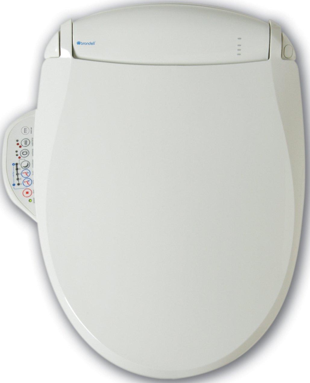 Brondell S550-RW Swash 550 Luxury Toilet Seat Round, White