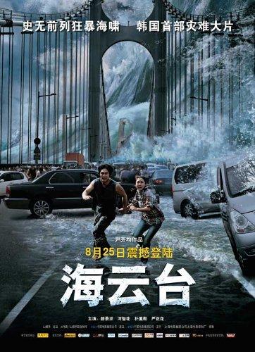 Poster of Tidal Wave 2009 Full Hindi Dual Audio Movie Download BluRay Hd 720p