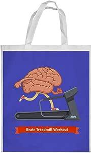 كيس تسوق، بتصميم رياضي - نشط دماغك ، مقاس وسط