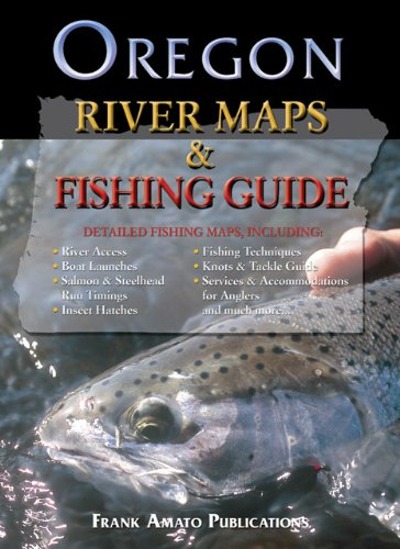 Oregon River Map & Fishing Guide