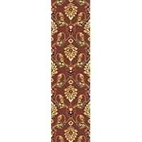 KAS Oriental Rugs Cambridge Collection Palazzo Runner, 22 x 711, Plum