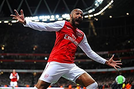 purchase cheap 36a51 55050 Amazon.com: Tomorrow sunny Soccer Arsenal Thierry Henry ...