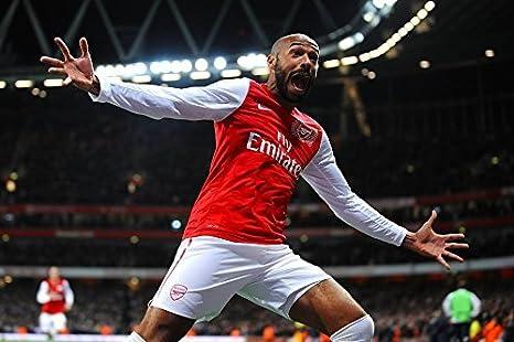 purchase cheap 4c956 fef80 Amazon.com: Tomorrow sunny Soccer Arsenal Thierry Henry ...