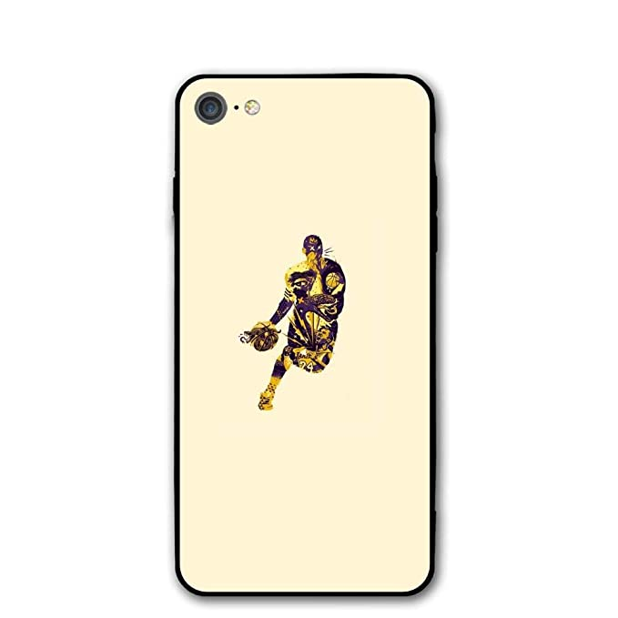 Funda para iPhone 7. Mamba K-O-B-E - Carcasa Ultrafina para iPhone ...