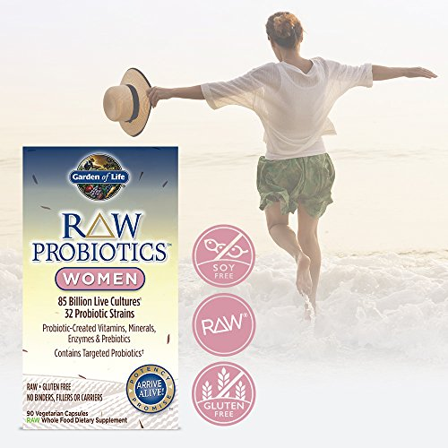 Garden Of Life Raw Probiotics Women Acidophilus And Bifidobacteria Probiotic Created