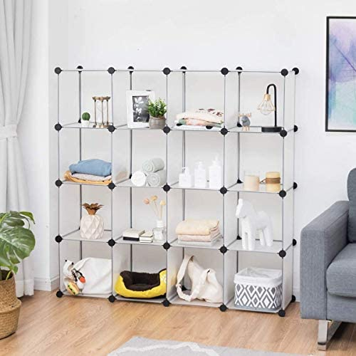 SPSUPE 16 Cubes Storage Cabinets