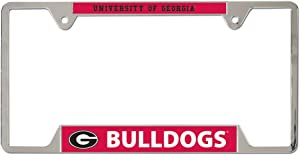 Wincraft NCAA University of Georgia Metal License Plate Frame - 21517011