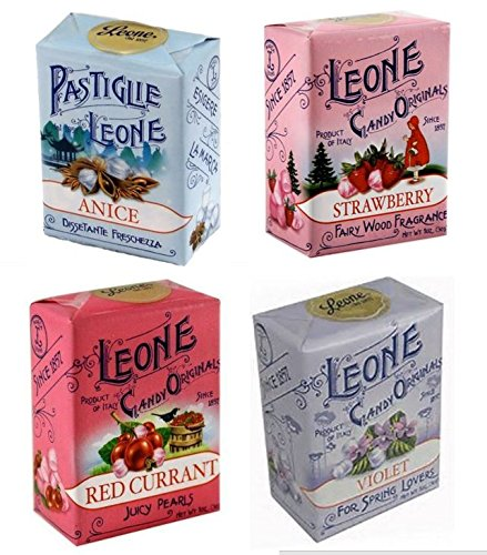 Leone 4-Pack Multipack (Violet, Red Currant, Anise and - Violet Strawberry
