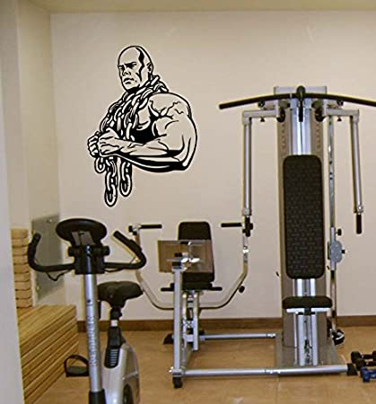 Amazon gym man body builder brawn sport dumbbells chain kids